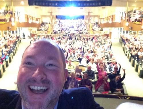 Selfie with Rhapsody of the Seas Group