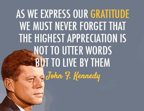 The Responsibilities of Gratitude: A Thanksgiving Reflection